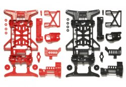 95242 Super X Chassis Set - Reinforced (Red/Black)