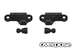 OD2254 Aluminium Shock Adjust Block Type-2 BLACK