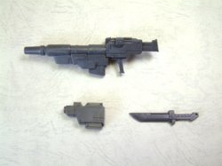 Weapon Unit MW03R Grenade Launcher Dugger