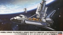 1/200 Hubble Space Telescope & Space Shuttle