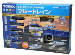 Basic Set SD Blue Train (Fine Track, Track La