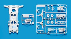 95256 Super II Reinforced Chassis - White