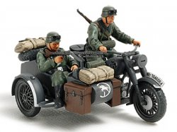 32578 German Motorcycle/Sidecar