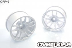 OD2477 R-SPEC WORK EMOTION CR Kiwami White (OFF+7mm)