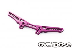 OD1675 Aluminum Front Shock Tower Purple for Vacula