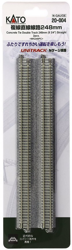 20-004 Unitrack Concrete Tie Double Track 248