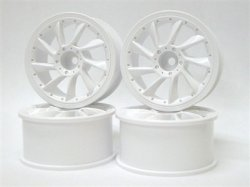 SPA-751 L Type Wheel 3mm Offset White 4pcs