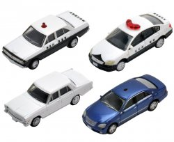 The Car Collection Basic Set J2 (4 Cars Set)