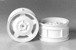 Tamiya RC Rear Star Dish Wheel Set - (1pr)