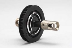 BD-501S7 Solid Axle Drive Cup (Black)