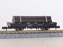 J.N.R. Flat Wagon CHI1 (With Lumber)