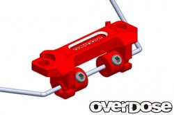OD2364 Aluminum Stabilizer Mount Set Red