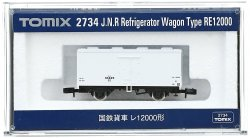 2734 JNR Refrigerator Wagon Type RE12000