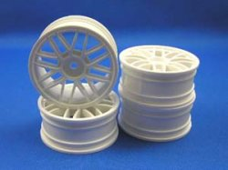 TW-0112-2 8 Spoke Mesh Medium Narrow Wheels (