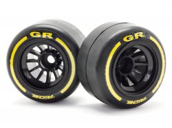 26042 GR F-1 Tires (Rear/Pre-Glued)