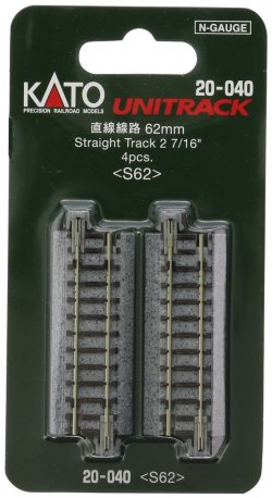 "20-040 62mm 2-7/16"" Straight (4pcs)"