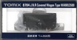 8704 J.N.R. Covered Wagon Type WAMU3500