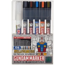 GMS122 Gundam Marker Pouring Inking Pen Set