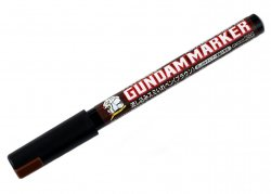 GM303P Gundam Marker Sumiire Pen Brown flowing type