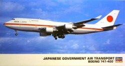 Boeing 747-400 Japan Government Plane