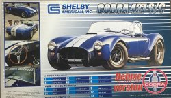 1/ 24 Shelby American Cobra 427 S/C Deluxe Version