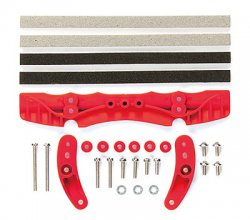 95011 Brake Set Red - AR Chassis