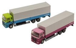 The Truck Collection 2-Car Set K Mitsubishi F
