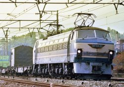 Electric Locomotive Type EF66 Early Type
