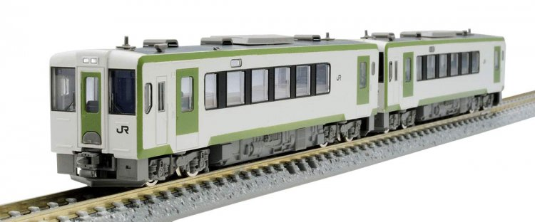 J.R. Diesel Train Type KIHA100 (2nd Edition) Set (2-Car Set) - Click Image to Close