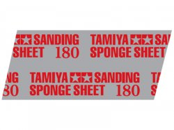 87161 Tamiya Polishing Sponge Sheet 180