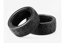 Tamiya RC Racing Semi-Slick Tires - (1pr)