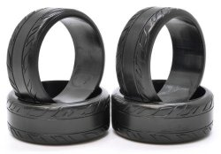[PRE-ORDER] 0034-04 HDPE Intermediate Radial Drift Tire (4pcs)