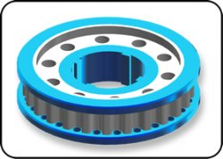 STR073 TA05 v1.5 & 2 Aluminum Center Pulley 25T