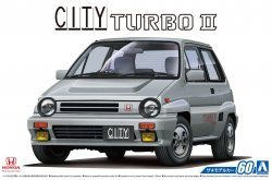 1/24 Honda AA City Turbo II `85