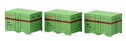 J.N.R. Container Type C31 (5t Container) (3pcs.)