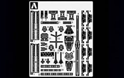 For Heavy Cruiser Atago 1942 Etched Parts