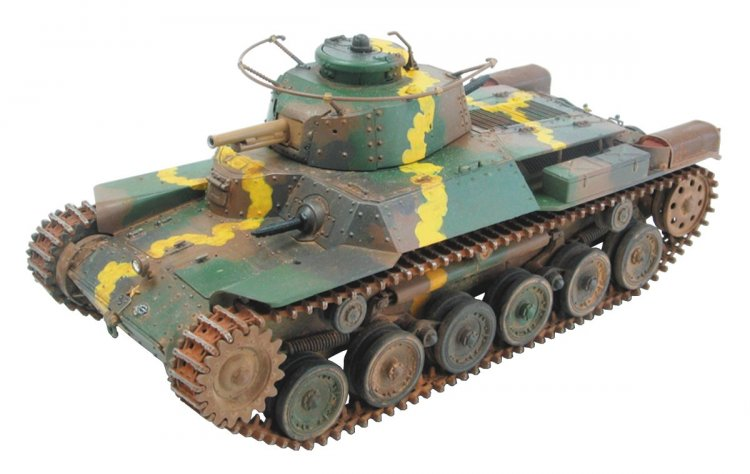 Imperial Army 97 Medium Tank [Chiha] Armor Increase Type - Click Image to Close