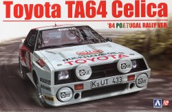 1/24 Toyota TA64 Celica `84 Portugal Rally Ve