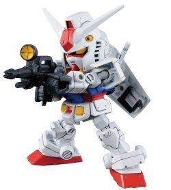 SD CS RX-78-2GUNDAM & CROSS SILHOUETTE FLAME SET