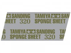 87163 Tamiya Polishing Sponge Sheet 320