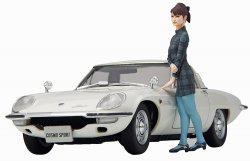 1/24 Mazda Cosmo Sport L10B with Girl Figure
