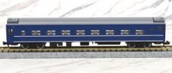 J.R. Type OHANE25-100 (15) Sleeping Car Silve