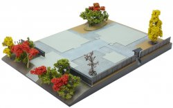 260783 Diorama Base B2 - Temple
