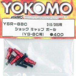 YSR-8BC Type-C Shock Cap Ball Red