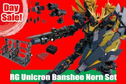 Day SALE! RG UNICORN GUNDAM 02 BANSHEE NORN S