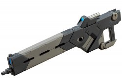 RW001 Weapon Unit 01 Burst Rail Gun