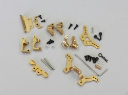 MBW2013AG Aluminum Strengthening Parts Set for MB-010 Gold