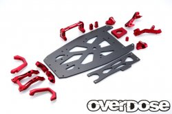 OD2250 XEX Carbon Chassis Kit / RED (XEX / Vspec / Spec.R)