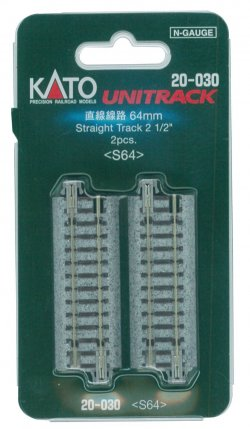 "20-030 64mm 2-1/2"" Straight (2pcs)"