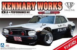 LB Works Kenmeri 4 Door Patrol Car 1/24